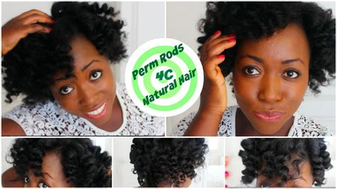 perm rods on medium natural hair perm rod set on 4c natural hair heatless curls overnight