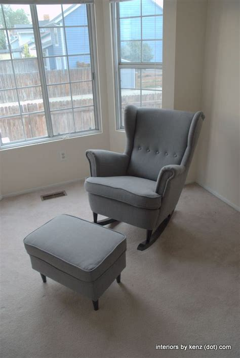 ikea chair hack ikea hack strandmon rocker diy wingback rocking chair