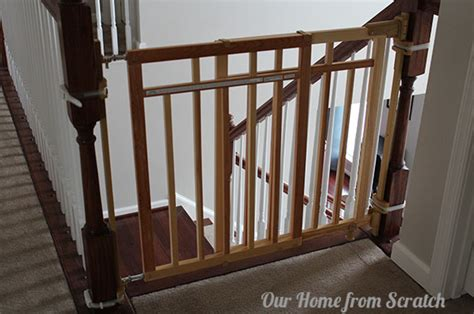 Banister Baby Gate Our Home From Scratch