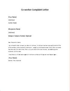 Sle Complaint Letter Regarding Co Worker apology letter to a client at http writeletter2