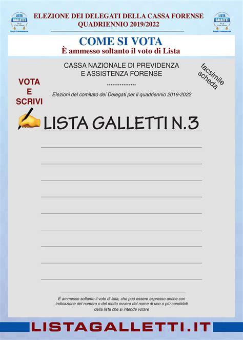 cassa forense banche dati elezioni delegati cassa forense roma
