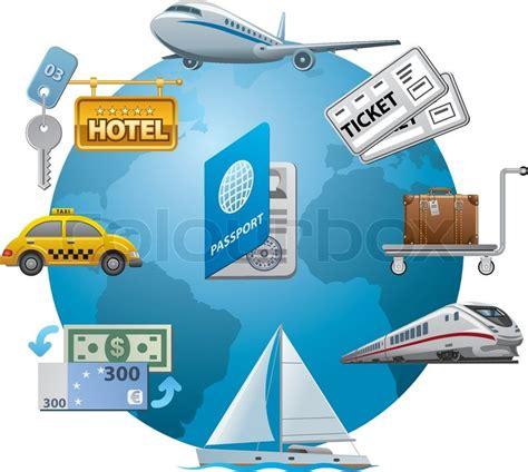 Sosiologi The Key Concepts Oleh travel icon concept stock vector colourbox