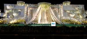 hydrabad event wedding and reception flowers decoration