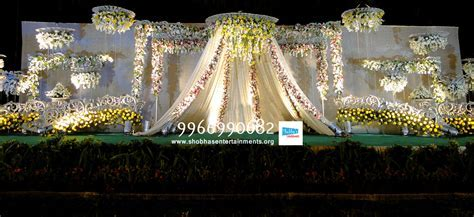 hydrabad event wedding and reception flowers decoration