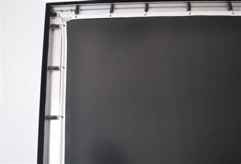 diy projection screen frame projection screens 150 inch 16 9 ratio diy flat fixed