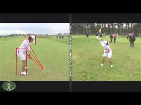 yani tseng swing yani tseng golf swing analysis youtube