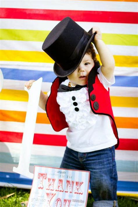 circus themed birthday outfit kara s party ideas circus themed 1st birthday party