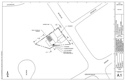 site plan drawing solar pv design services renewable energy associates llc