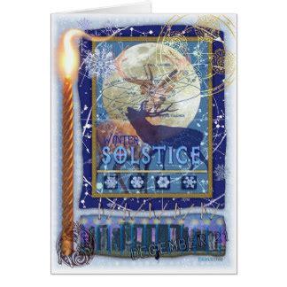winter solstice greeting card templates pagan cards pagan card templates postage invitations