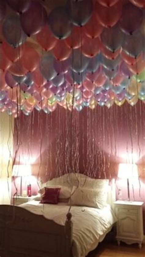 Party In My Bedroom | 1000 ideas about birthday balloon surprise on pinterest