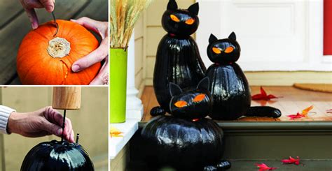 how to make black cat jack o lanterns diy cozy home