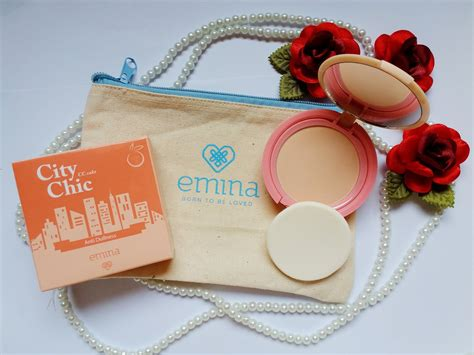 Emina City Chic Cc Cake Butterscotch 12gr Two Way Cake T2909 review emina workshop with arsya s goodie bag