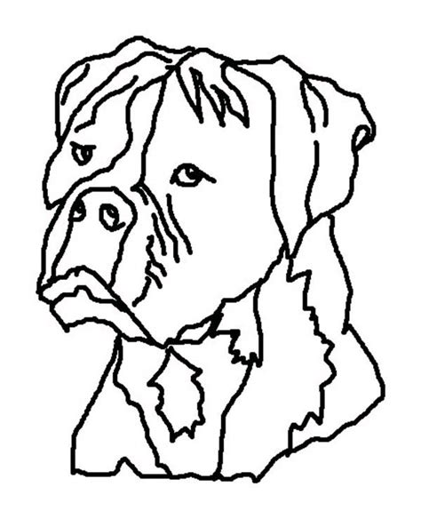 coloring pages of boxer dogs boxer free coloring pages