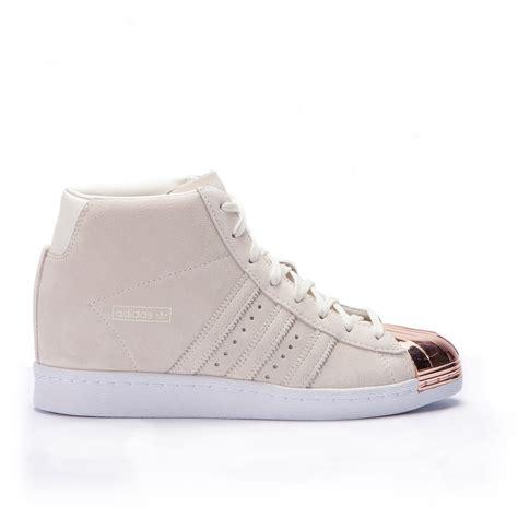 Adidas Superstar Up Metal Toe Womens adidas superstar up quot metal toe quot white copper s79384