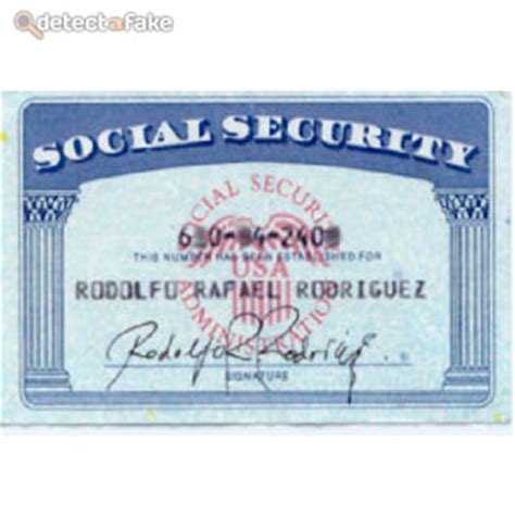 real social security card template how to spot social security cards 3 steps with