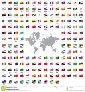 drapeaux de pays illustration de vecteur image 46757622