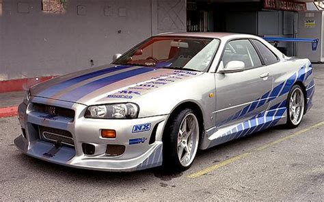nissan skyline fast and furious 1 2 fast 2 furious gadget show competition prizes