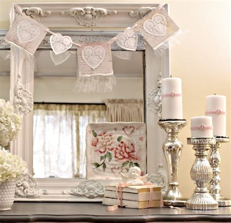 40 Sweet Shabby Chic Valentine S Day D 233 Cor Ideas Digsdigs Shabby Chic Decorations