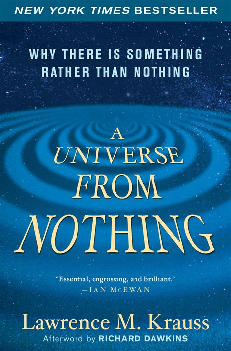 say nothing a novel books a universe from nothing book by m krauss