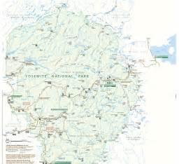 yosemite national park maps