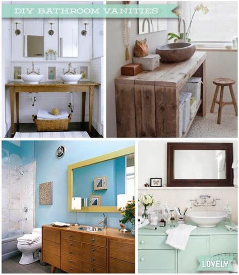 diy bathroom cabinets diy rustic bathroom vanities