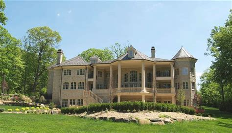 houses in new jersey alpine new jersey french chateau rear elevation manors mansions nice fancy houses