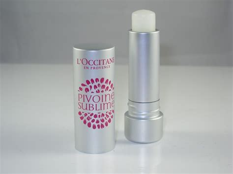 Loccitane Lip Balm l occitane pivoine sublime tinted lip balm review swatches musings of a muse