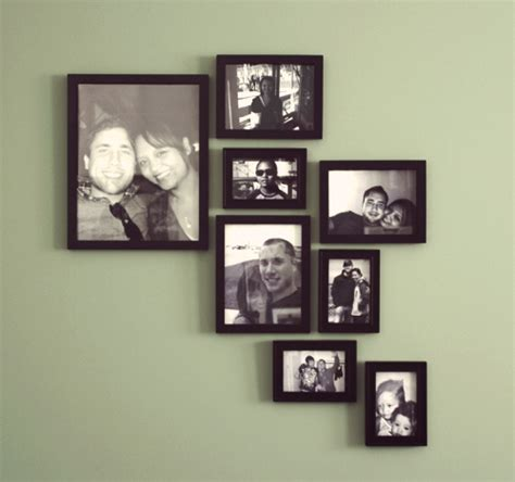 design photo wall create a modern picture frame wall design diywithrick