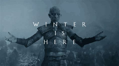 game  thrones white walkers gif find share  giphy
