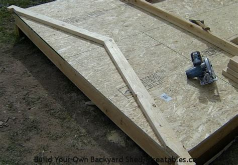 How To Build Shed Rafters by How To Build A Shed Storage Shed Building