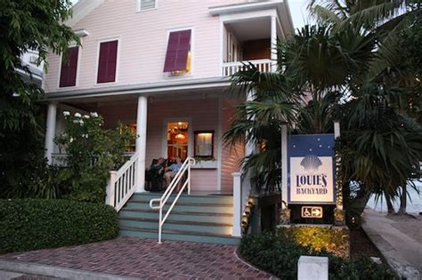 backyard restaurant key west louie s backyard key west menu prices restaurant