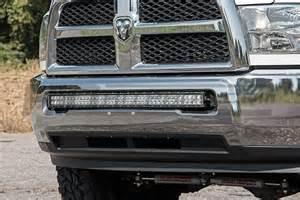 Dodge Ram Led Light Bar Dodge 40 Inch Curved Led Light Bar Bumper Mounts