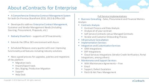Contract Management With Sharepoint And Office365 Sharepoint Contract Management Template