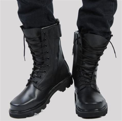 Sepatu Boot Timberland Army mens fur lining special forces steel toe