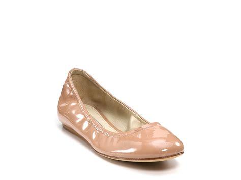 vera wang shoes flats vera wang lavender lillian patent ballet flats in beige