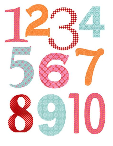 printable large numbers 1 25 5 best images of printable numbers 1 through 25 extra