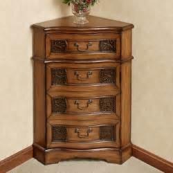 Wood Corner Cabinet Cadiz Wooden Corner Accent Cabinet