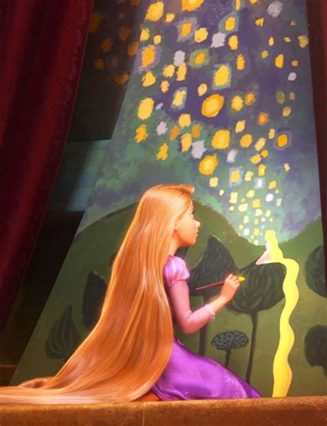Rapunzel Painting Tangled Favorite Things