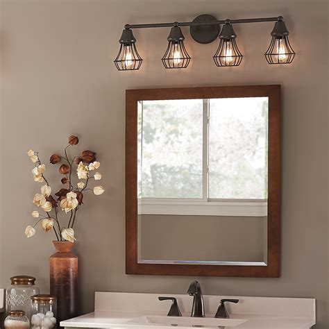 master bathroom lighting master bath kichler lighting 4 light bayley olde bronze