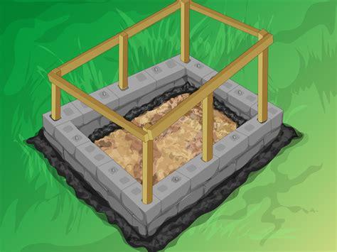 build  mortarless concrete stem wall  steps