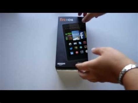 amazon fire hd 6 video clips