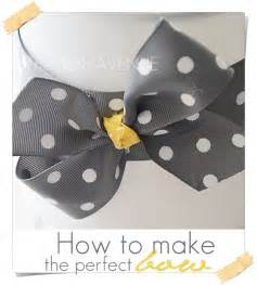 the 36th avenue how to make a perfect bow the 36th avenue