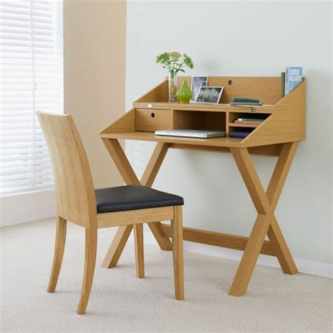 Small Desk Home Office Opus Oak Ii Flip Top Desk From Next Desks 19 Of The Best Desks Housetohome Co Uk