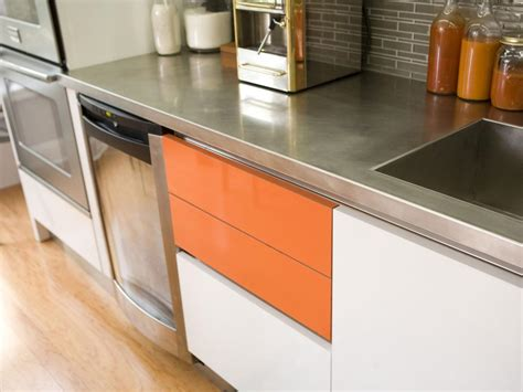 Stainless Steel Kitchen Countertops Stainless Steel Countertops Hgtv