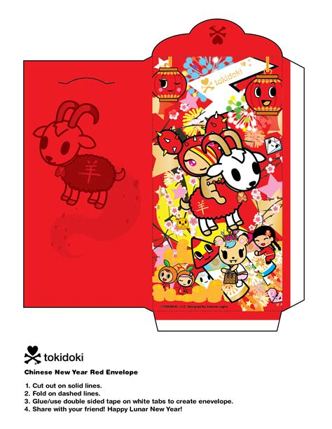 new year 2015 diy lunar new year diy tokidoki