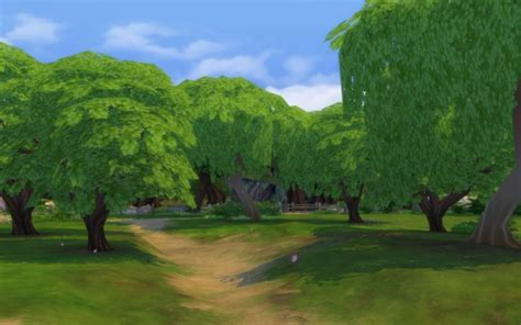 sims 4 cherry tree pink trees begone cherry trees texture override at houses real awesome 187 sims 4 updates