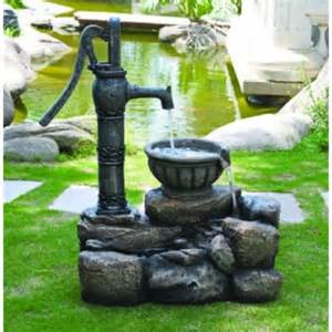 backyard water pump alethia water pump water feature with led lights brand