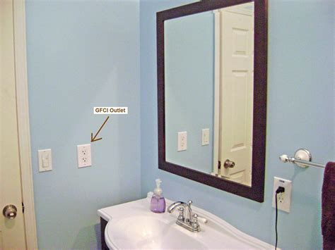 bathroom outlets how to finish a basement bathroom ceiling junction box
