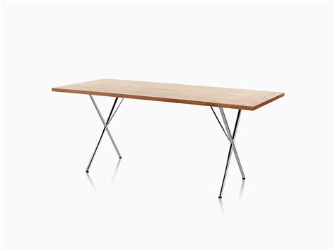 X Leg Dining Table Nelson X Leg Dining Table Herman Miller