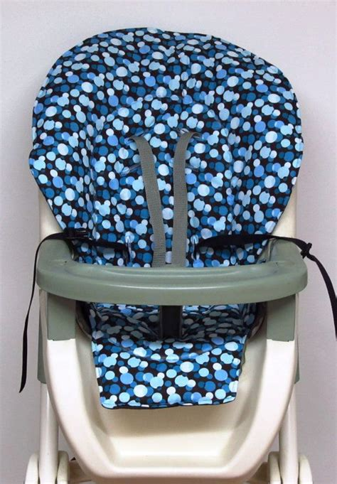 Graco High Chair Replacement Cover graco high chair cover pad replacement blue dots